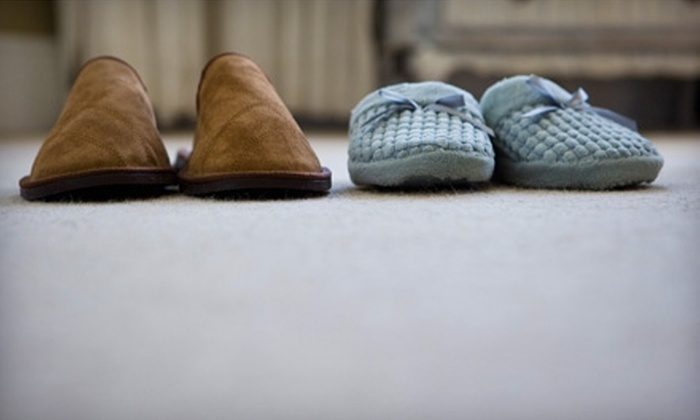 Rainbow International - Saskatoon: $89 for a Deep Carpet Cleaning for Three Rooms and One Hallway, Plus One Spot Removal, from Rainbow International