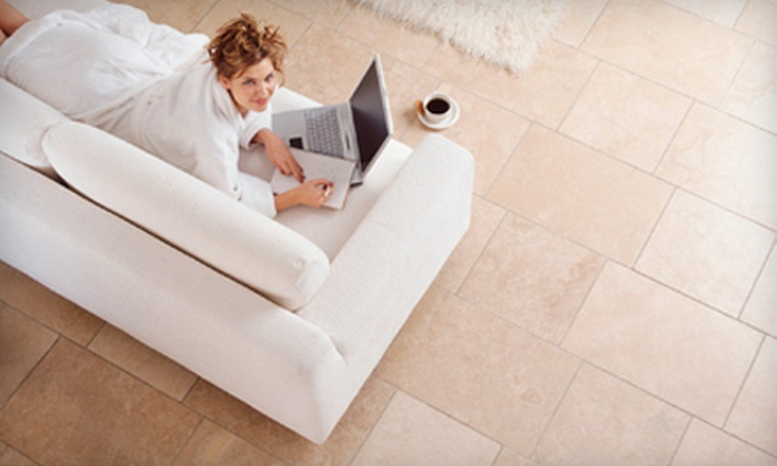 OZ Carpet Cleaning & More - Pompano Beach: $45 for Tile or Carpet Cleaning from OZ Carpet Cleaning & More ($90 Value)