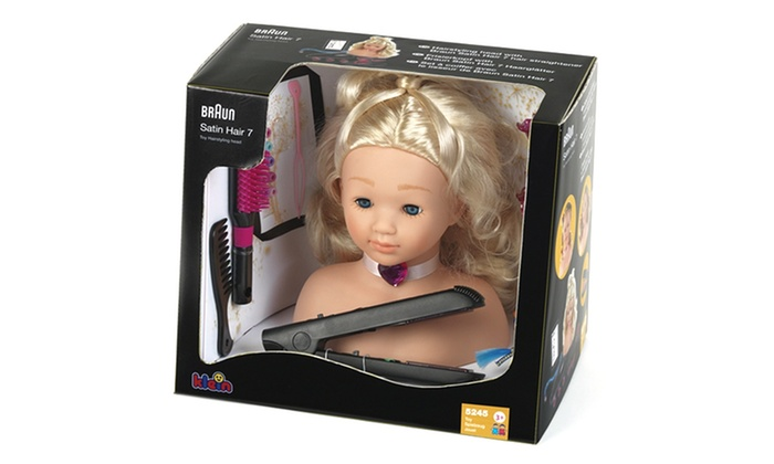 Braun 10 Hairstyling Head With Accessories
