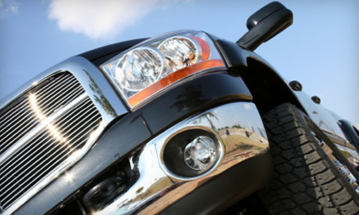 Done Right Auto Detail - Flour Bluff: Headlight Restoration or Full-Detail Wash for a Car, Truck, or SUV at Done Right Auto Detail