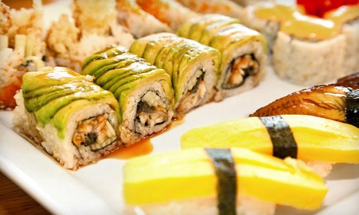 Saké Japanese Steakhouse & Sushi Bar - Wichita: Hibachi Dinner Fare, Sushi Dinner Fare, or Hibachi Lunch Fare at Saké Japanese Steakhouse & Sushi Bar (Half Off)