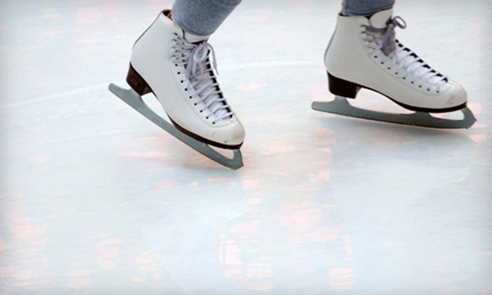Centennial Ice Arena - Highland Park: Ice-Skating Admission for Two or Four at Centennial Ice Arena in Highland Park (Up to 58% Off)