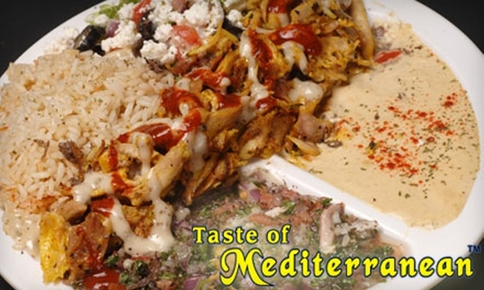Taste of Mediterranean - Downtown Toronto: $10 for $20 Worth of Greek and Lebanese Cuisine at Taste of Mediterranean