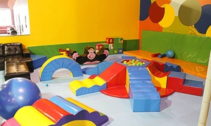 BALL FACTORY Indoor Play & Cafe: Open Play for Three or Four or a Party at Ball Factory Indoor Play & Cafe (Up to 35% Off)