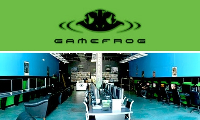 GameFrog - Durham: $10 for Five Hours of Gaming and One Drink at GameFrog