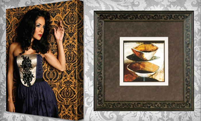 Museum Quality Framing - Camarillo: $30 for $100 Worth of Canvas Printing or Custom Framing at Museum Quality Framing