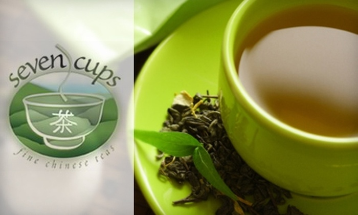 Seven Cups - Sam Hughes: $5 for $10 Worth of Gourmet Tea, Sweets, and Snacks at Seven Cups