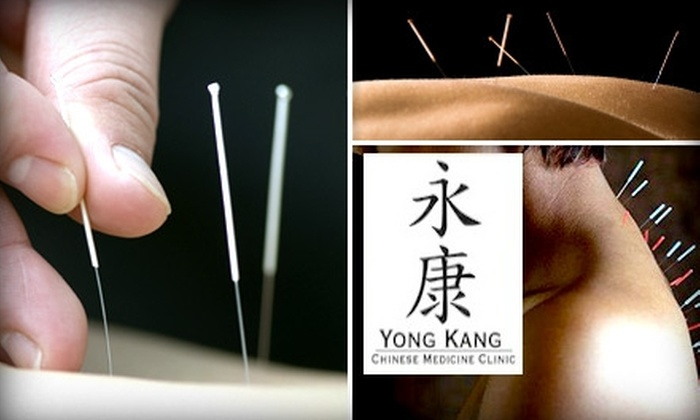 Yong Kang Chinese Medicine Clinic - St Louis: $39 for a 90-Minute Acupuncture Visit at Yong Kang Chinese Medicine Clinic ($105 Value)
