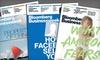 "Bloomberg Businessweek: $19 for 50 Issues of ""Bloomberg Businessweek"" ($40 Value)"