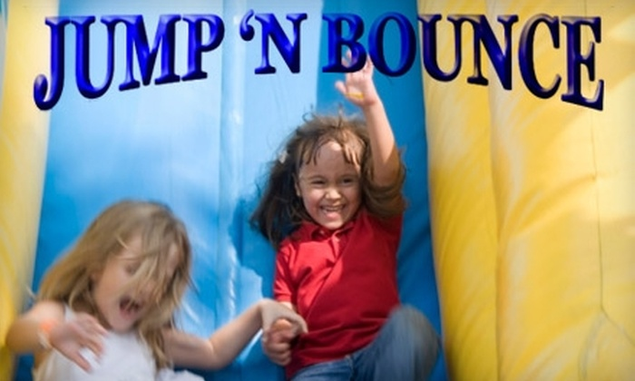 Jump 'N Bounce - West Jordan: $25 for One-Month Family Pass at Jump 'N Bounce ($50 Value)