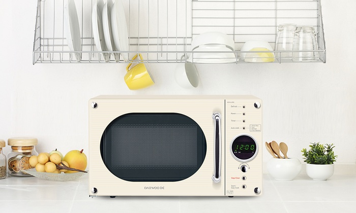 Groupon Goods Global Gmbh Daewoo 800w Touch Control Microwave Available In 4 Colours For