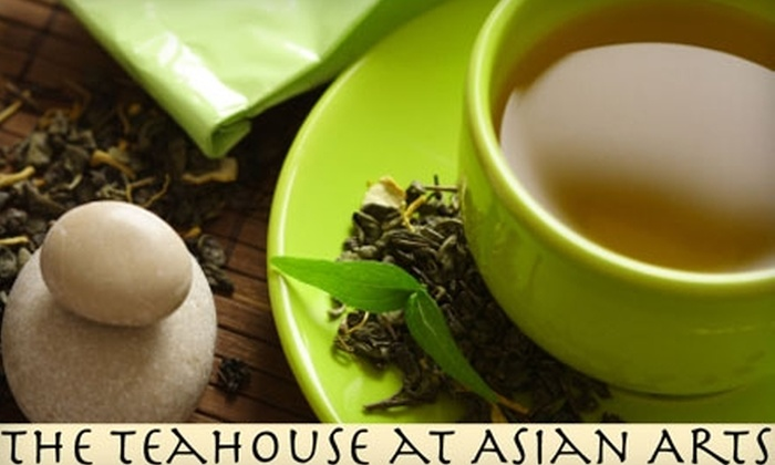 The Teahouse at Asian Arts - Tampa Bay Area: $24 for Three-Course Asian Meal for Two with Sake at The Teahouse at Asian Arts in Sarasota (Up to $54.48 Value)
