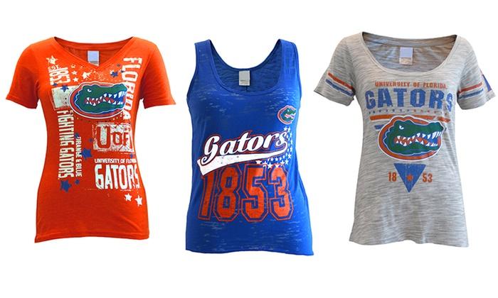 Womens NCAA Florida Gators Cotton T Shirts