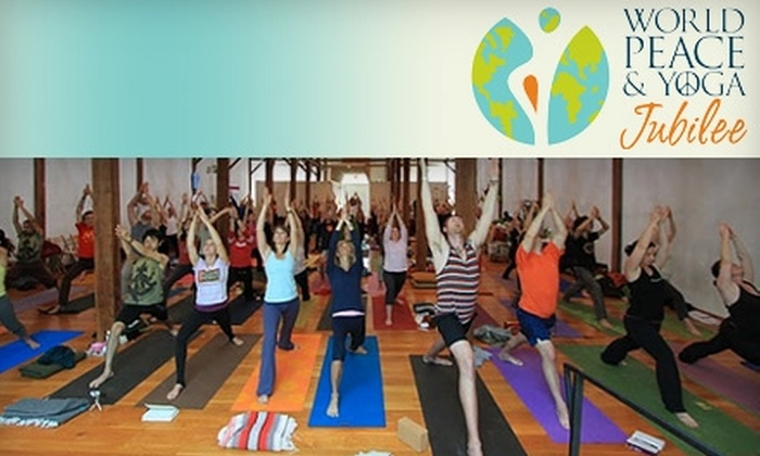 World Peace & Yoga Jubilee - Miami: $75 for a One-Day Pass to the World Peace & Yoga Jubilee ($175 Value)
