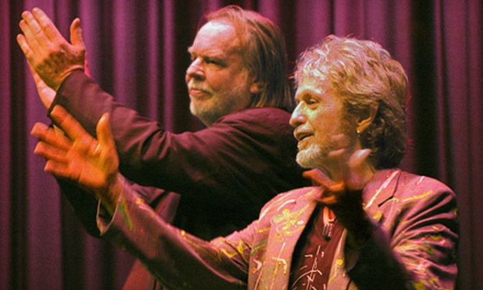 "Jon Anderson and Rick Wakeman's ""Up Close & Acoustic"" - Central Business District: Two Tickets to See Former Yes Members Perform at Hanover Theatre for the Performing Arts. Two Options Available."