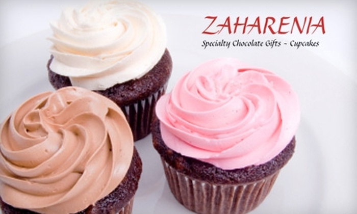 Zaharenia - Oakland Gardens: $4 for a Dozen Mini Cupcakes at Zaharenia ($8 Value)