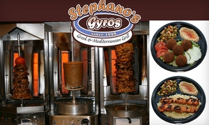 Stephano's Greek Grill - Paradise: $10 for $20 Worth of Gyros, Falafel, and More at Stephano's Greek and Mediterranean Grill