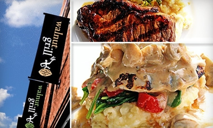 Walnut Grill - Shadyside: $20 for $40 Worth of Contemporary American Fare and Drinks at Walnut Grill in Shadyside