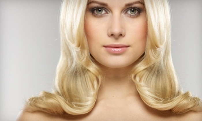 Angell Hair Salon - Ardmore: $40 for Haircut, Color Service, and Style at Angell Hair Salon in Winston-Salem (Up to $95 Value)