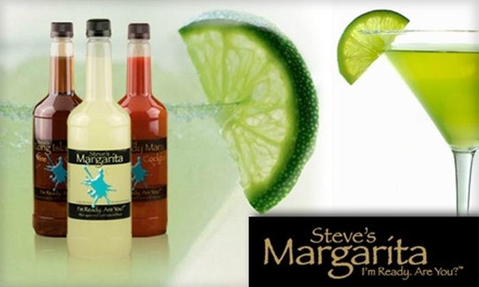 Steve's Margarita - Abbott Acres: $20 for One Case of 24 Bottles of Pre-Mixed Cocktails from Steve's Margarita ($55 Value)