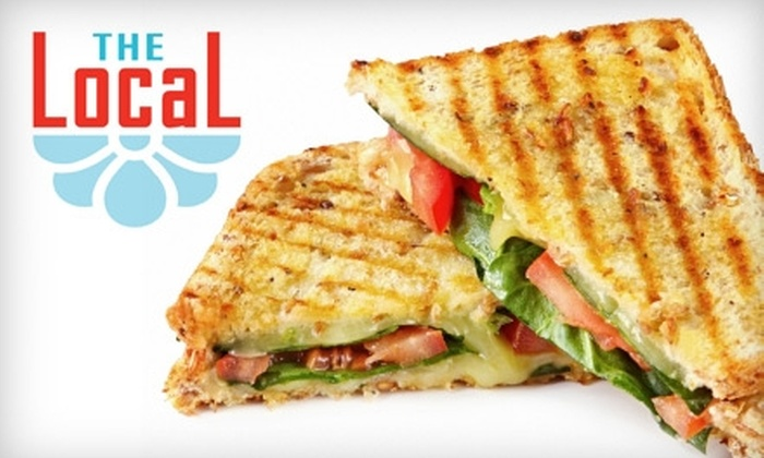The Local - Washington Park: $20 for a $40 Gift Card Good Toward Locally Sourced Breakfast and Lunch Fare at The Local