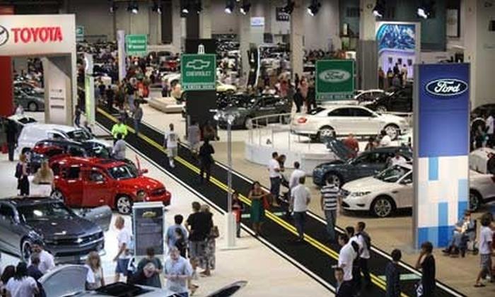 Utah International Auto Expo - Sandy: $8 for Utah International Auto Expo Outing for Two (Up to $16 Value)