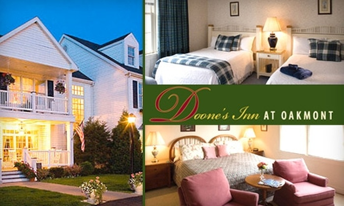 Doone's Inn at Oakmont - Verona: $80 for a One-Night Stay and Breakfast at Doone's Inn at Oakmont (Up to $210 Value)