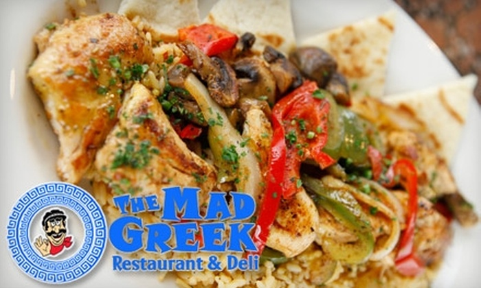 The Mad Greek - East Columbus: $7 for $15 Worth of Authentic Greek Fare at The Mad Greek