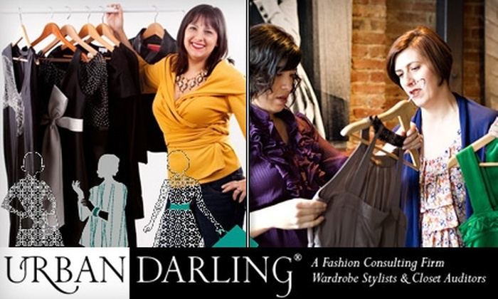 Urban Darling - San Jose: $90 for 2.5 Hours of In-Home and Over-the-Phone Fashion Consulting with Urban Darling