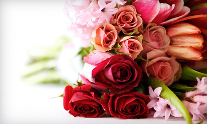 Baker's Baskets and Flowers - Wildes Corner: $30 for $60 Worth of Fresh Flowers and Gift Baskets at Baker's Baskets and Flowers in Warwick