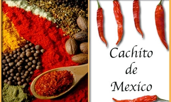 Cachito de Mexico - Mahncke Park: $5 for $10 Worth of Mexican Fare Plus Free Sopapilla at Cachito de Mexico