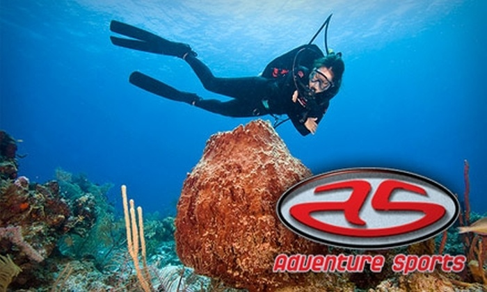 Adventure Sports - Wichita: $15 for an Introductory Discover Scuba-Diving Experience at Adventure Sports ($35 Value)