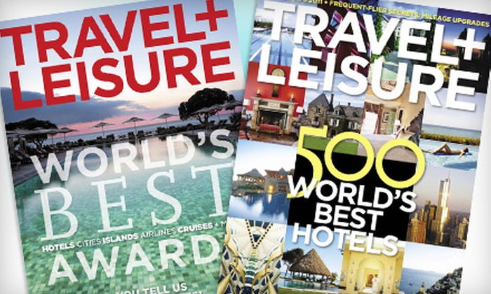 Travel + Leisure: $18 for 24 Issues of Travel + Leisure Magazine ($39.98 Value)