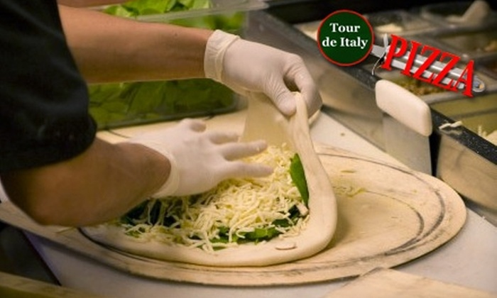 Tour De Italy - Multiple Locations: $9 for a 16-Inch Specialty Pizza at Tour de Italy in Fayetteville ($18.95 Value)