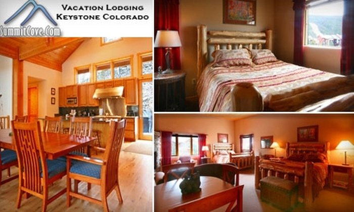 SummitCove Vacation Lodging - Denver: $50 for $100 Toward Keystone Lodging at SummitCove Vacation Lodging