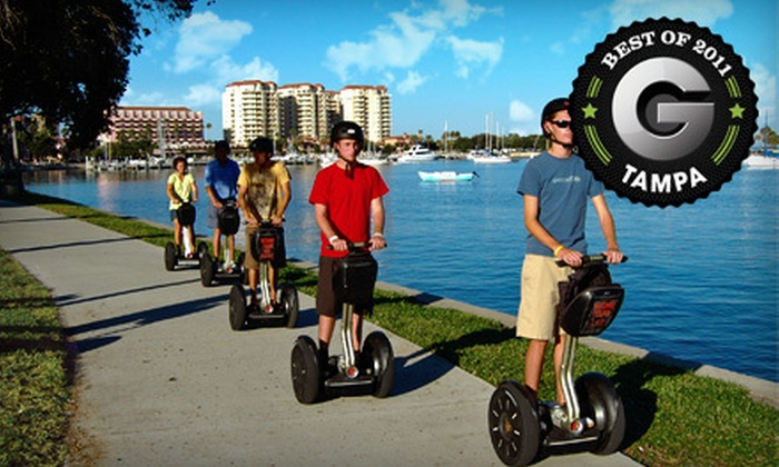 Magic Carpet Glide - Multiple Locations: Two-Hour Segway Tour of St. Petersburg or Tampa from Magic Carpet Glide (54% Off)