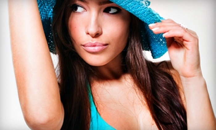 Sun Spa Tanning - Belmar Park: Two Versa Spa Spray Tans ($60 Value) or a Spa Tanning Package ($193 Value) at Sun Spa Tanning in Lakewood.