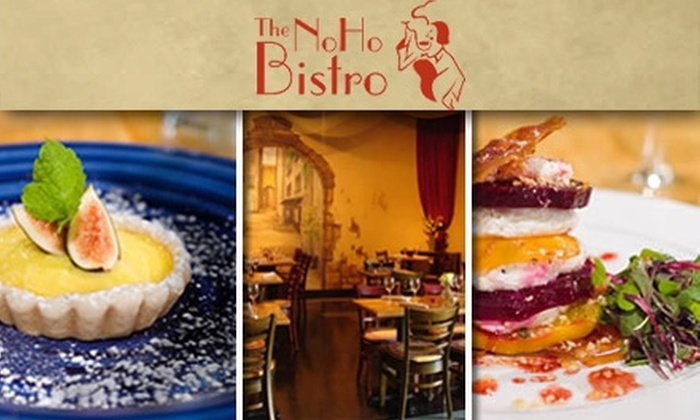 The NoHo Bistro - Northeast MacFarlane: $15 for $35 Worth of Upscale European Cuisine & Wine at The NoHo Bistro