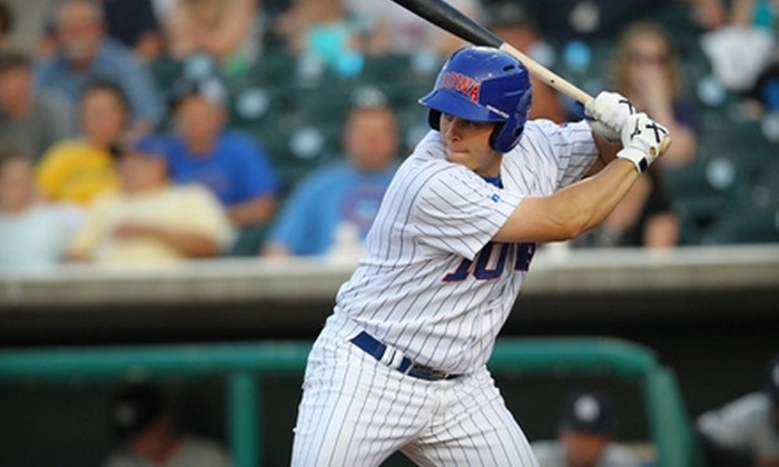 Iowa Cubs - Downtown Des Moines: $40 for Four Reserved Seats and 40 Cubbie Dollars to an Iowa Cubs Game (Up to $80 Value)