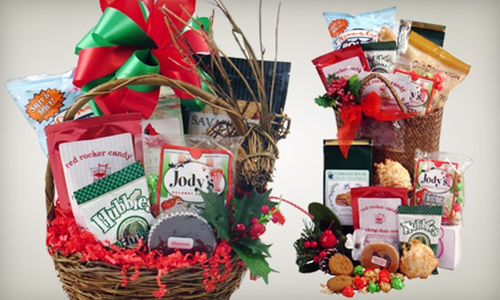 Taylor Made for You - Richmond: $15 for a Holiday or Traditional Taste of Virginia Gift Basket at Taylor Made for You ($30 Value)