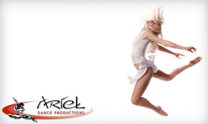 Ariel Dance Productions - Campbell: $52 for an Eight-Class Series Pass at Ariel Dance Productions in Campbell ($129 Value)