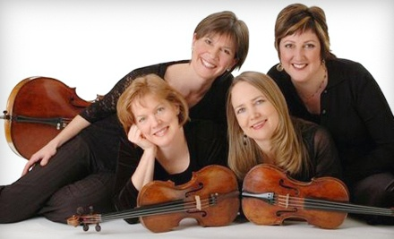 Lafayette String Quartet presented by the Fremont Symphony Orchestra on Sat., Feb. 25 at 8PM: Section B Seating - Lafayette String Quartet presented by the Fremont Symphony Orchestra in Fremont