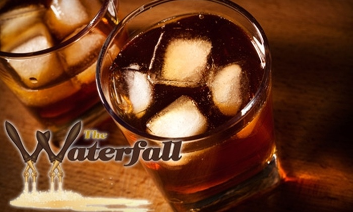 The Waterfall - Downtown Reno: $10 for $20 Worth of Drinks and Half Off Hookah at The Waterfall