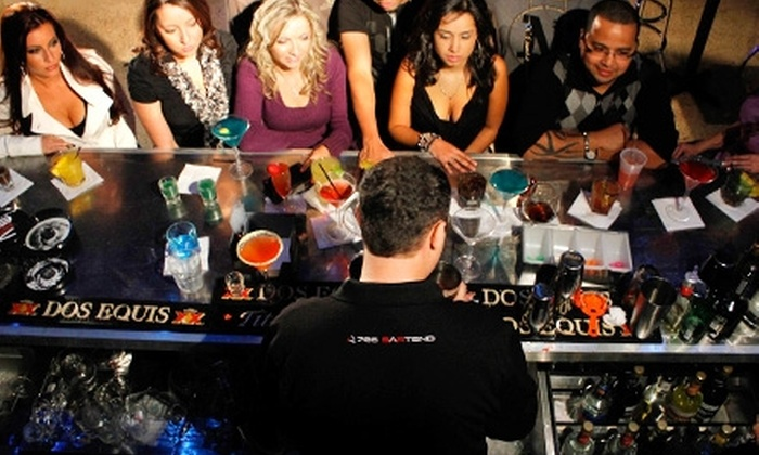 786-Bartend - Royal Poinciana: 4-Hour Cocktail Workshop or 40-Hour Bartending Course at 786-Bartend in Hollywood (64% Off)