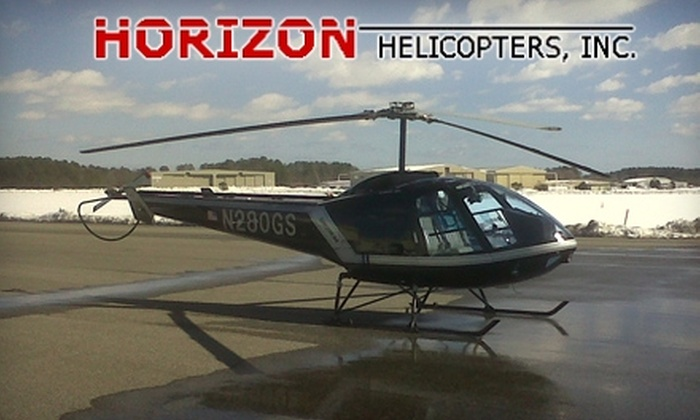 Horizon Helicopters - Central Pencader: $165 for a 30-Minute Flight-Simulator Lesson and a 30-Minute Hands-On Lesson with Horizon Helicopters ($375 Value)