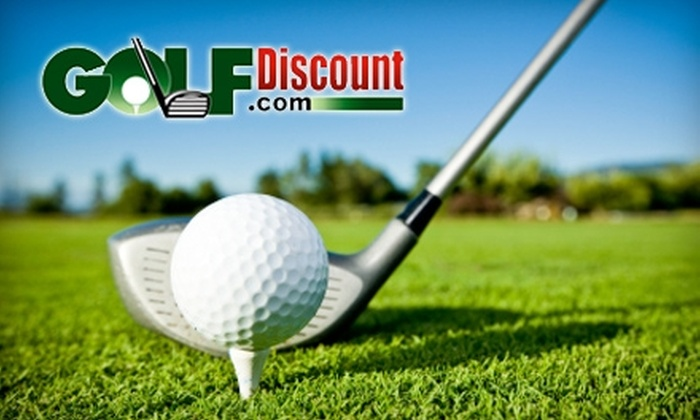 GolfDiscount.com: $25 for $50 Worth of Golf Clubs, Golf Balls, Apparel, and More at GolfDiscount.com