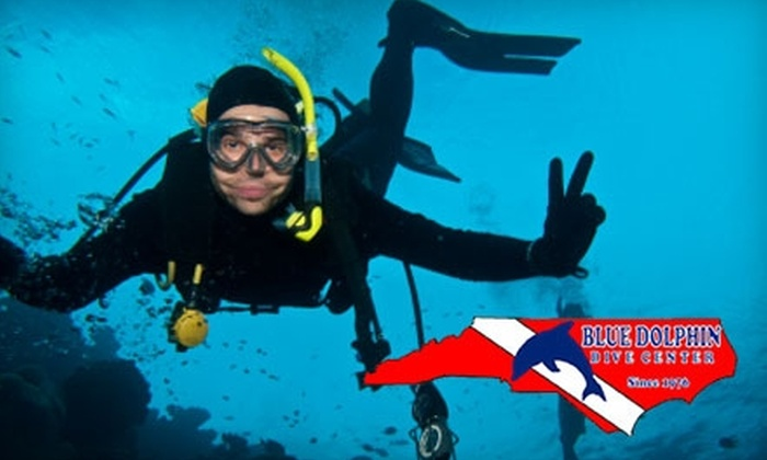 Blue Dolphin Dive Center - Piedmont Triad: $17 for a Three-Hour Discover Scuba Lesson at Blue Dolphin Dive Center ($35 Value)