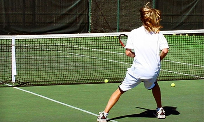 Kluge Rd. Tennis Ranch - Cypress: $40 for One Week of Tennis Camp Lessons at Kluge Rd. Tennis Ranch in Cypress ($85 Value)