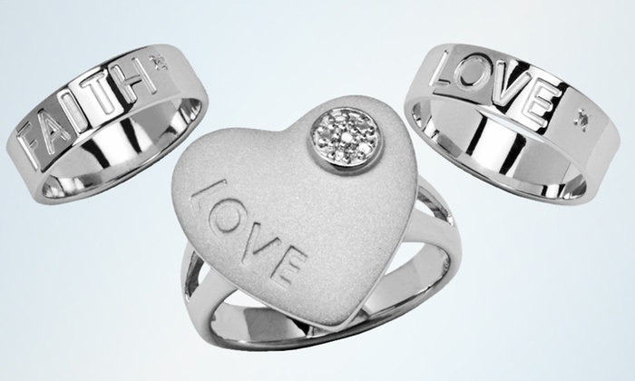 Inspirational Rings: Inspirational Rings (Up to 95% Off). Six Options Available. Free Shipping on Purchases of $15 or More. Free Returns.