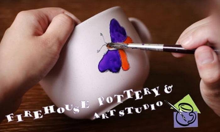 Firehouse Pottery and Art Studio - Springfield: $5 for $10 Worth of Paint-Your-Own Crafts at Firehouse Pottery and Art Studio